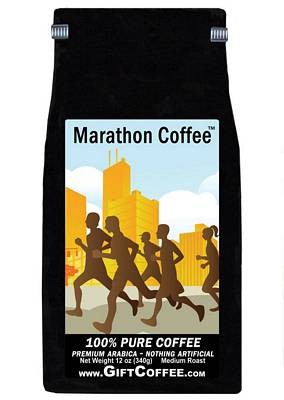 Marathon Gift Coffee, 12 Ounce Bag of Gourmet Coffee