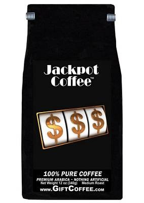 Jackpot Gift Coffee, 12 Ounce Bag of Gourmet Coffee