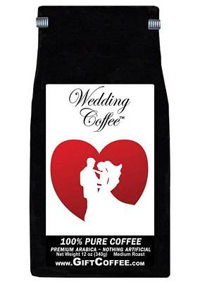Wedding Gift Coffee, 12 Ounce Bag of Gourmet Coffee