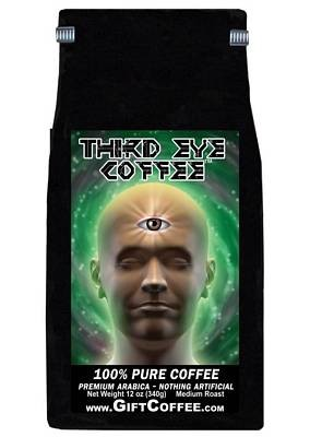 Third Eye Gift Coffee, 12 Ounce Bag of Gourmet Coffee