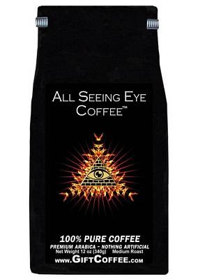 All Seeing Eye Gift Coffee, 12 Ounce Bag of Gourmet Coffee