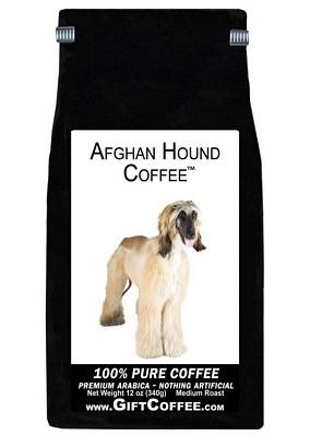 Afghan Hound Gift Coffee, 12 Ounce Bag of Gourmet Coffee