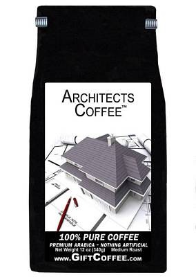 Architects Gift Coffee, 12 Ounce Bag of Gourmet Coffee