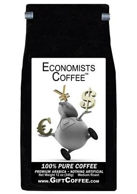 Economists Gift Coffee, 12 Ounce Bag of Gourmet Coffee