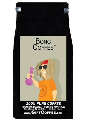 Bong Gift Coffee, 12 Ounce Bag of Gourmet Coffee