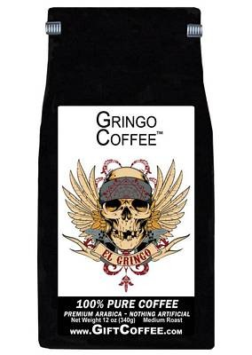 Gringo Gift Coffee, 12 Ounce Bag of Gourmet Coffee