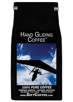 Hand Gliding Gift Coffee, 12 Ounce Bag of Gourmet Coffee