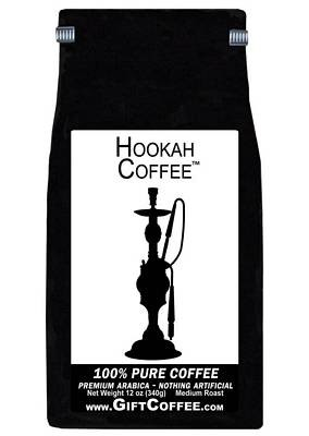Hookah Gift Coffee, 12 Ounce Bag of Gourmet Coffee
