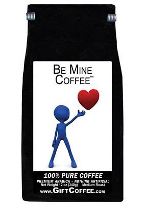 Be Mine Gift Coffee, 12 Ounce Bag of Gourmet Coffee