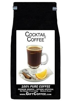 Cocktail Gift Coffee, 12 Ounce Bag of Gourmet Coffee
