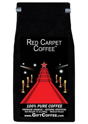Red Carpet Gift Coffee, 12 Ounce Bag of Gourmet Coffee