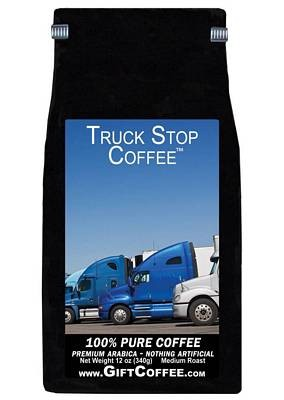 Truck Stop Gift Coffee, 12 Ounce Bag of Gourmet Coffee