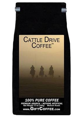 Cattle Drive Gift Coffee, 12 Ounce Bag of Gourmet Coffee