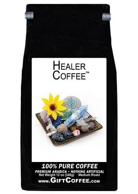 Healer Gift Coffee, 12 Ounce Bag of Gourmet Coffee