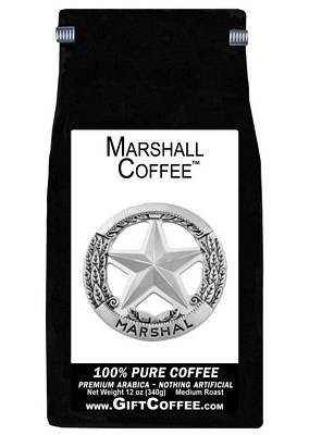 Marshall Gift Coffee, 12 Ounce Bag of Gourmet Coffee