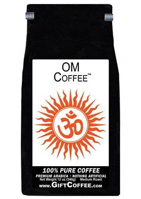 OM Gift Coffee, 12 Ounce Bag of Gourmet Coffee