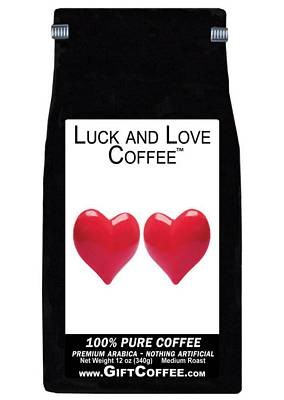 Luck and Love Gift Coffee, 12 Ounce Bag of Gourmet Coffee