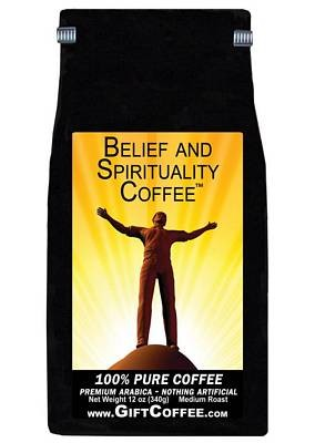 Belief and Spirituality Gift Coffee, 12 Ounce Bag of Gourmet Coffee
