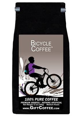 Bicycle Gift Coffee, 12 Ounce Bag of Gourmet Coffee