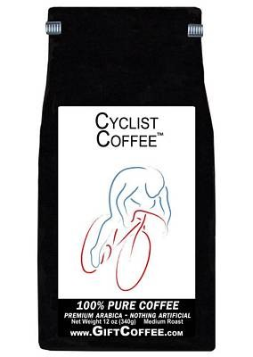 Cyclist Gift Coffee, 12 Ounce Bag of Gourmet Coffee
