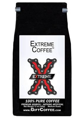 Extreme Gift Coffee, 12 Ounce Bag of Gourmet Coffee