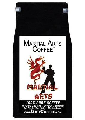 Martial Arts Gift Coffee, 12 Ounce Bag of Gourmet Coffee