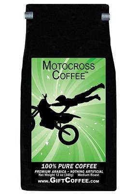 Motocross Gift Coffee, 12 Ounce Bag of Gourmet Coffee