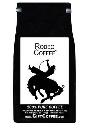 Rodeo Gift Coffee, 12 Ounce Bag of Gourmet Coffee