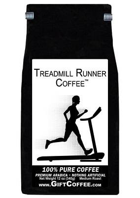 Treadmill Runner Gift Coffee, 12 Ounce Bag of Gourmet Coffee
