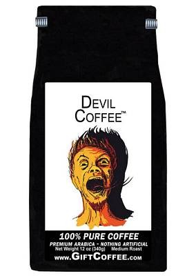 Devil Gift Coffee, 12 Ounce Bag of Gourmet Coffee