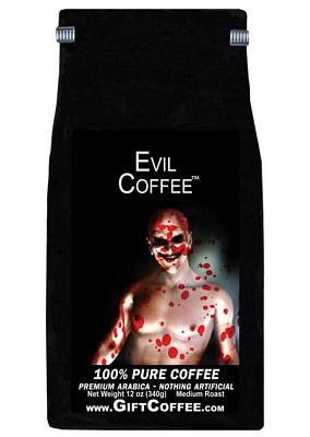 Evil Gift Coffee, 12 Ounce Bag of Gourmet Coffee