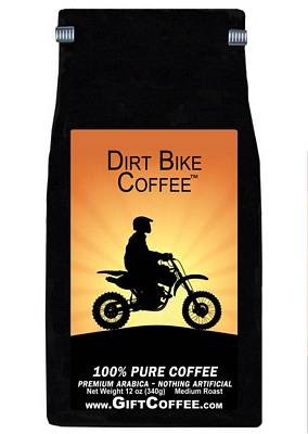 Dirt Bike Gift Coffee, 12 Ounce Bag of Gourmet Coffee