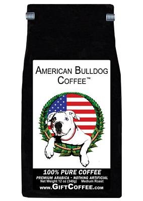 American Bulldog Gift Coffee, 12 Ounce Bag of Gourmet Coffee