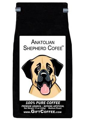 Anatolian Shepherd Gift Coffee, 12 Ounce Bag of Gourmet Coffee
