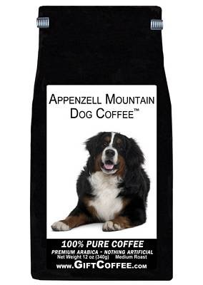 Appenzell Mountain Dog Gift Coffee, 12 Ounce Bag of Gourmet Coffee