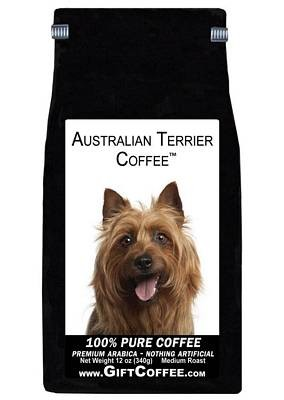 Australian Terrier Gift Coffee, 12 Ounce Bag of Gourmet Coffee