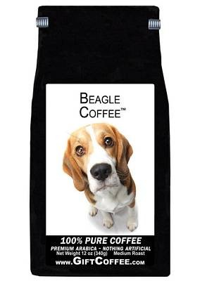 Beagle Gift Coffee, 12 Ounce Bag of Gourmet Coffee