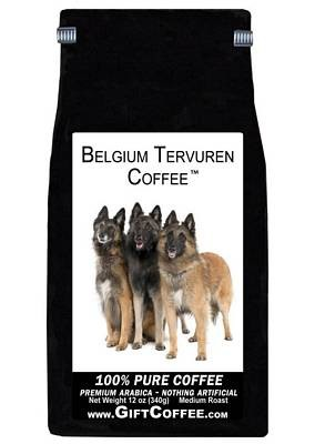 Belgium Tervuren Gift Coffee, 12 Ounce Bag of Gourmet Coffee