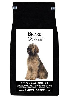 Briard Gift Coffee, 12 Ounce Bag of Gourmet Coffee