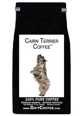 Cairn Terrier Gift Coffee, 12 Ounce Bag of Gourmet Coffee