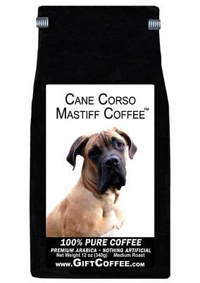 Cane Corso Mastiff Gift Coffee, 12 Ounce Bag of Gourmet Coffee