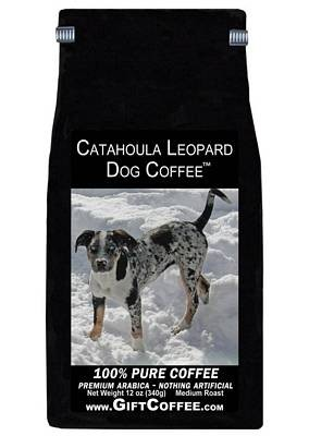 Catahoula Leopard Dog Gift Coffee, 12 Ounce Bag of Gourmet Coffee