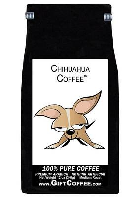 Chihuahua Gift Coffee, 12 Ounce Bag of Gourmet Coffee