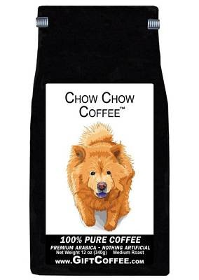 Chow Chow Gift Coffee, 12 Ounce Bag of Gourmet Coffee