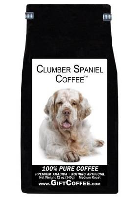 Clumber Spaniel Gift Coffee, 12 Ounce Bag of Gourmet Coffee