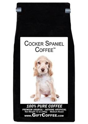 Cocker Spaniel Gift Coffee, 12 Ounce Bag of Gourmet Coffee