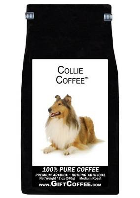Collie Gift Coffee, 12 Ounce Bag of Gourmet Coffee