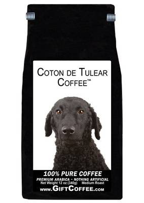 Curly Coated Retriever Gift Coffee, 12 Ounce Bag of Gourmet Coffee