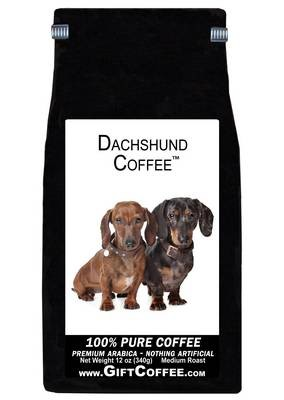 Dachshund Gift Coffee, 12 Ounce Bag of Gourmet Coffee