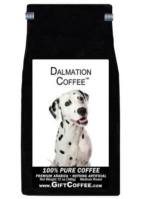 Dalmation Gift Coffee, 12 Ounce Bag of Gourmet Coffee